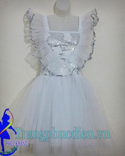 Váy múa trắng