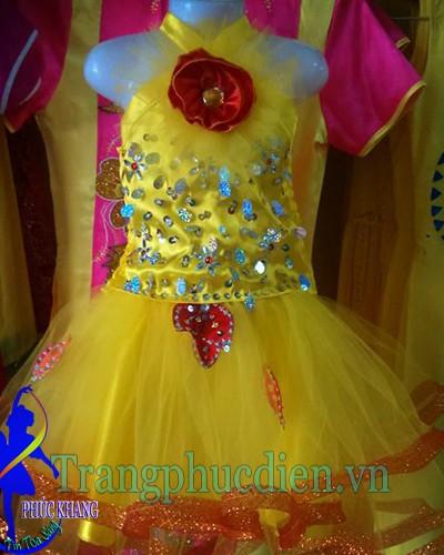 Váy múa vàng