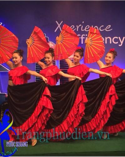 Trang phục flamenco