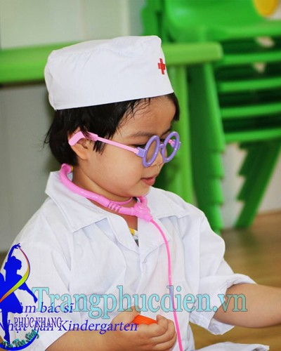 Trang phục bác sỹ trẻ em