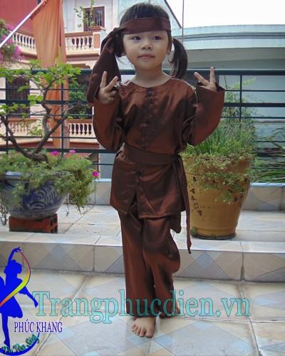 trang phục nông dân trẻ em