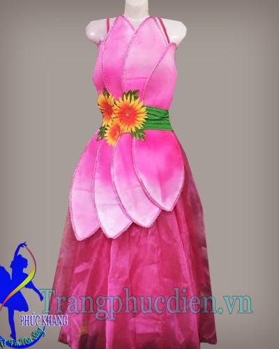 váy múa sen hiện đại