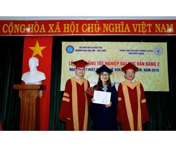 Lễ phục tốt nghiệp Đại học Mỏ địa chất