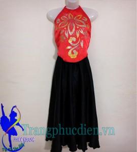 Áo yếm váy đụp trẻ em may tại xưởng may Phúc Khang