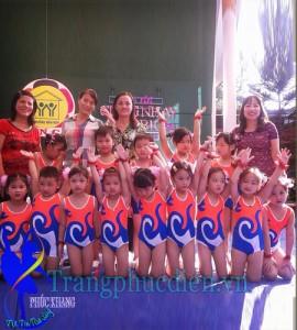 Aerobic trẻ em đồng diễn