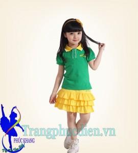 trang phục đồng diễn trẻ em