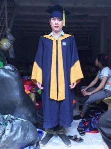 Lễ phục tốt nghiệp đại học xây dựng