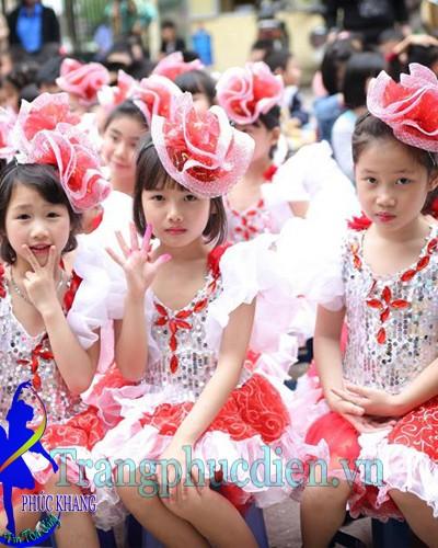 Váy múa biểu diễn trẻ em