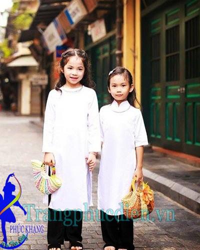 Áo dài trẻ em