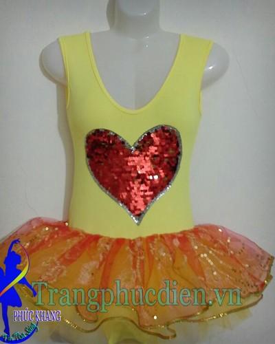 Váy múa bale trẻ em