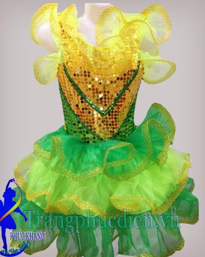 Váy múa nhi đồng