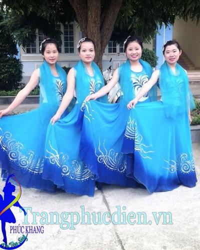 Váy múa biển đảo