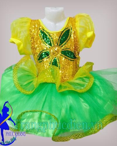 Đầm múa trẻ em