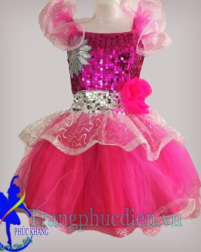 váy múa biểu diễn