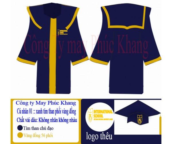 Lễ phục tốt nghiệp đại học quốc gia Hà Nội