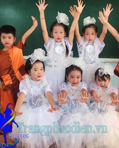 Váy múa trẻ em
